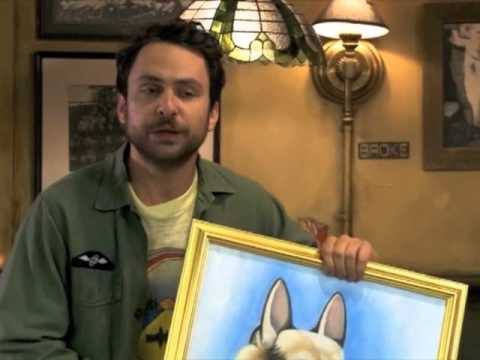 Its Always Sunny Charlie Hitler Painting Full Youtube