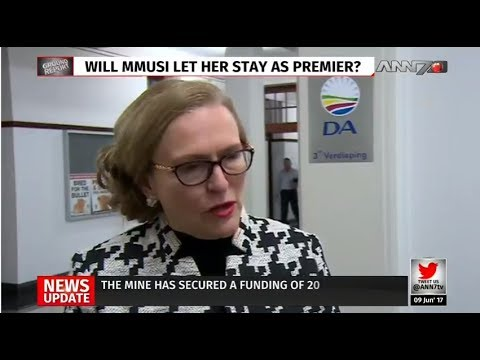 Helen Zille speaks to ANN7 about her suspension, DC, relationship with Maimane