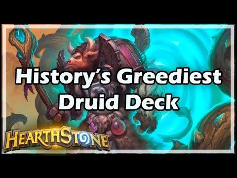 [Hearthstone] History's Greediest Druid Deck