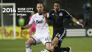 San Jose Earthquakes vs. Vancouver Whitecaps FC at 5 p.m.