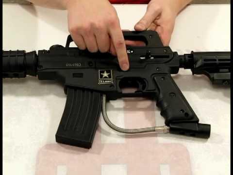 Tippmann US Army Alpha Black Tactical & Basic Review by HustlePaintball.com