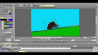 animacion simple en TVpaint animation 10 pro  speed animation