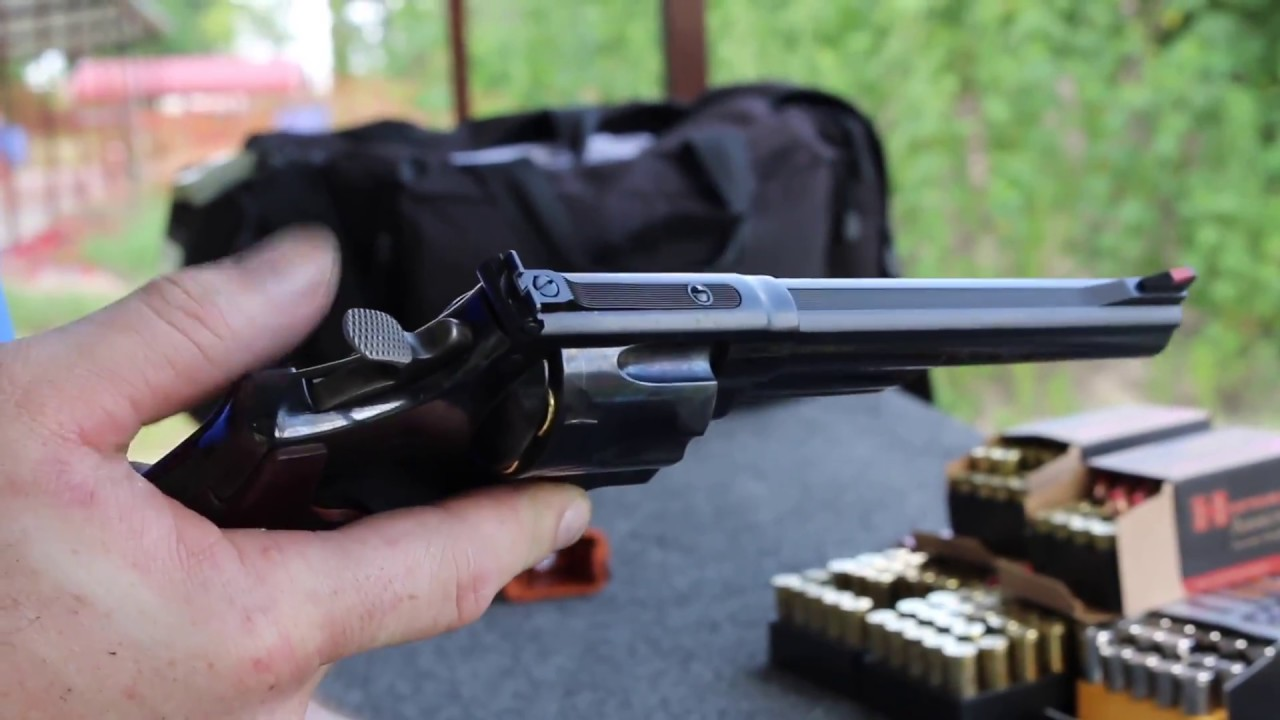 Getting the feel for the vaunted Smith & Wesson Model 29 in