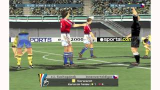Lets play Uefa Euro 2000 German part 13 HD (PC)