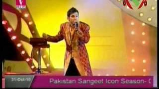 Asad Abbas Naina Thag Lain Gay Pakistan Sangeet Icon 1 Grand Finale