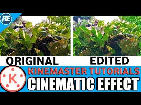 Kinemaster Tutorials - How to Edit Cinematic Effect in Kinemaster | How to edit Videos like Movie
