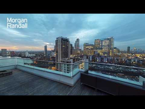 Virtual Tour Of The Week | 3 Bed Penthouse In Canary Wharf | Available To Rent