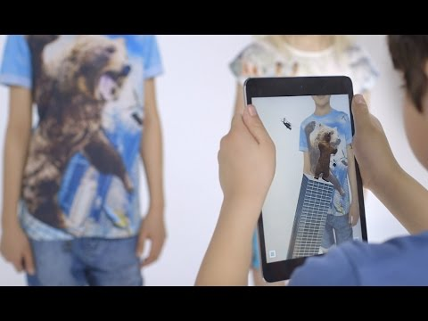 M&S Kids: Augmented Reality Tees