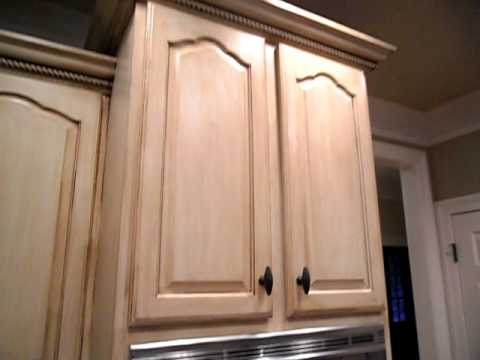 Glazed And Spattered Cabinets  Updated On Site