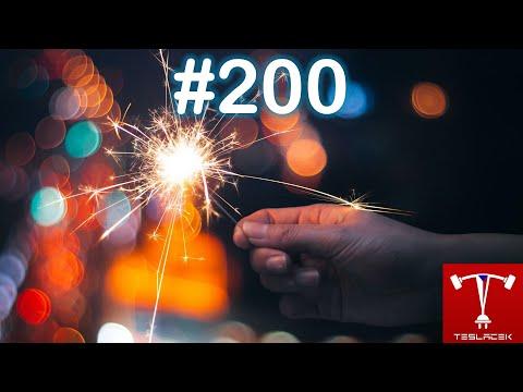 #200 Sraz Patronů a oslava Rok Patreonu, YouTube členství a další ... | Teslacek