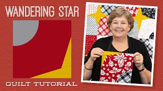 """Make a """"Wandering Star"""" Quilt with Jenny Doan of Missouri Star (Video tutorial)"""