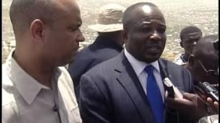 Vizit Premye Minis Laurent Salvador Lamothe akonpaye Prezidan asanble nasyonal la nan ...