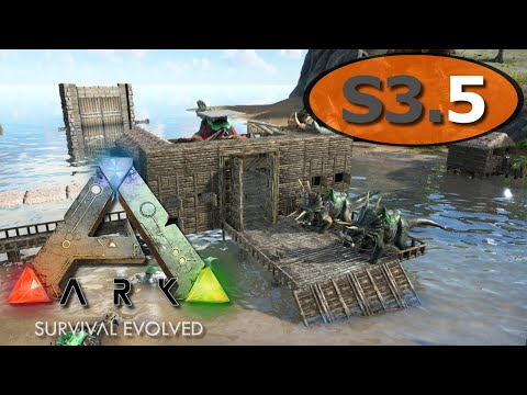 ARK: Survival Evolved - Harbor Warehouse Building - IronMine #5
