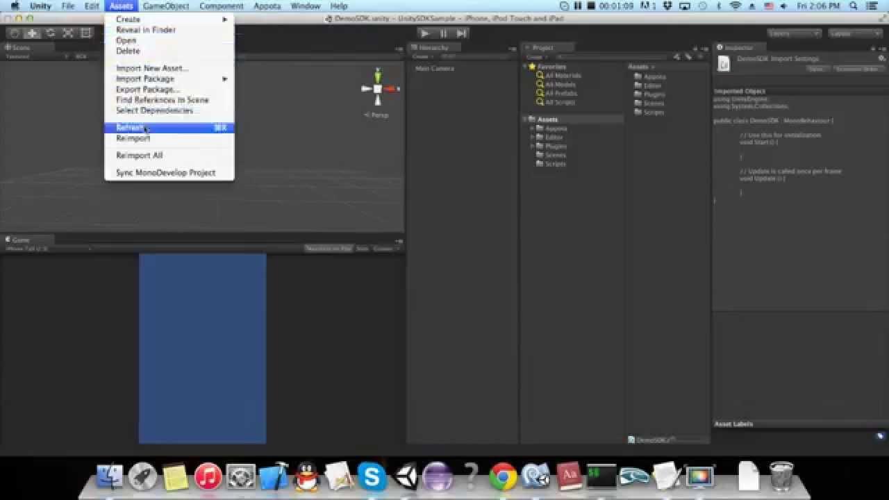 [Tutorial] Integrate Appota Payment Unity SDK in iOS platform