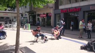 showhawk duo bristol broadmead live guitar dance music covers 2 of 2