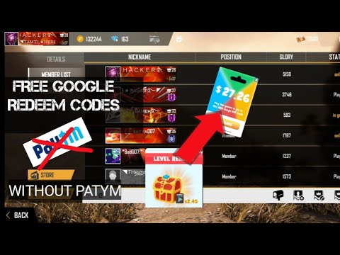 How to get google play redeem codes for free /easy trick ...