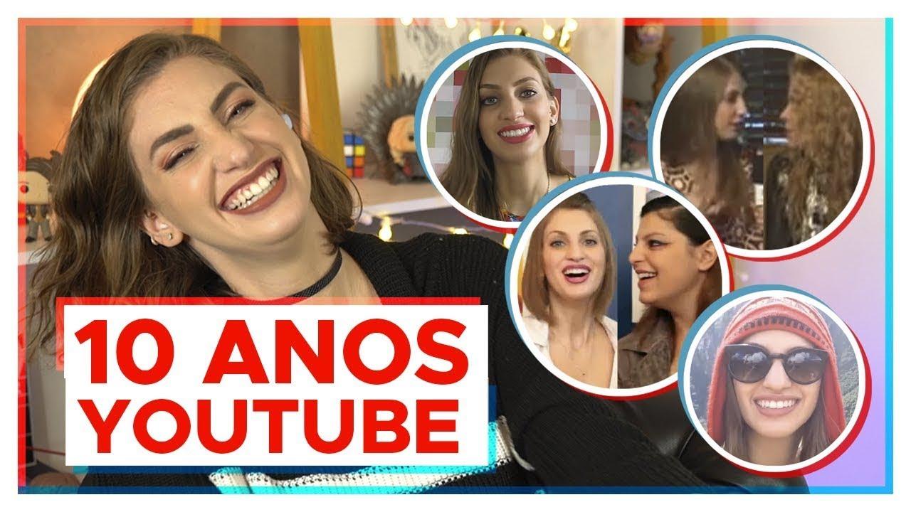 10 ANOS DE YOUTUBE | Revi vídeos antigos!