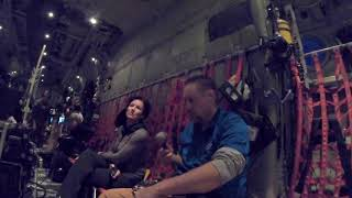 A Flight with the 53rd Weather Reconnaissance Squadron, the Hurricane Hunters.