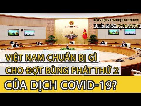 Cập nhật nhanh tình hình dịch COVID-19 TRƯA ngày 7 tháng 4/2020 | FBNC