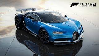 Δοκιμάζω την νέα Bugatti Chiron στο Forza Motorsport 7