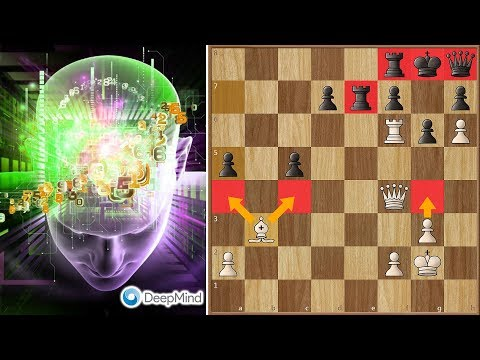 "Deep Mind Alpha Zero's ""Immortal Zugzwang Game"" against Stockfish"