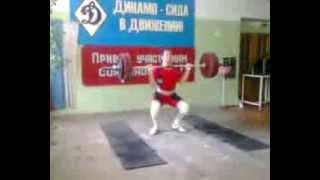 Тяжелая атлетика Толчок 145 кг