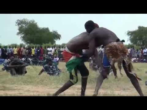 African Wrestling - South Sudan