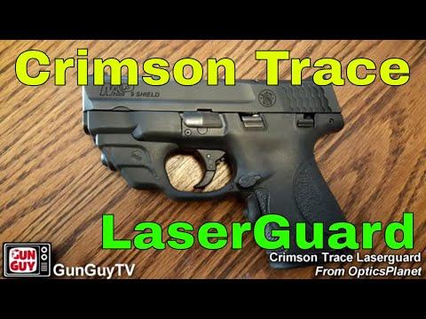 Crimson Trace LaserGuard for S&W M&P Shield - YouTube