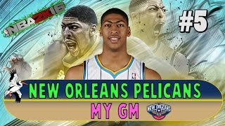 nba 2k16 new orleans pelicans my gm ep 5 carmelo madness