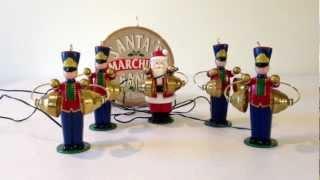 Mr Christmas Santa's Marching Animated & Musical Band