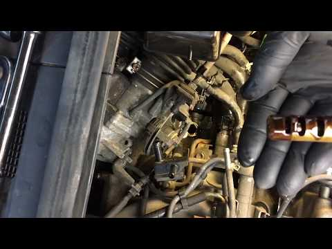 1999 Lexus RX300 How to replace VVT Variable Valve Timing Solenoid Part 1 of 2