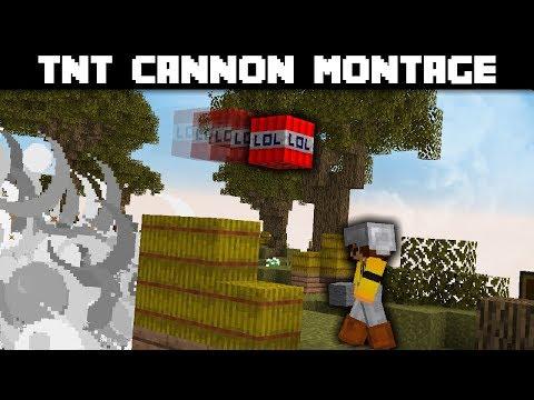 TNT Cannon Montage   Hypixel Skywars   Bitzel