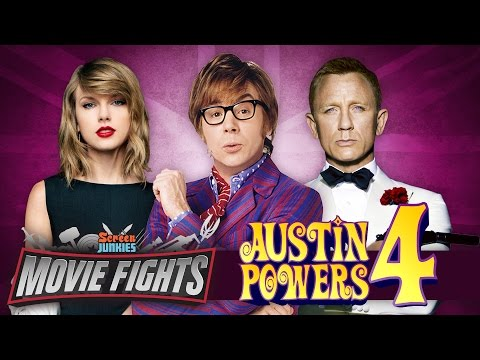 Pitch Austin Powers 4   MOVIE FIGHTS Poster