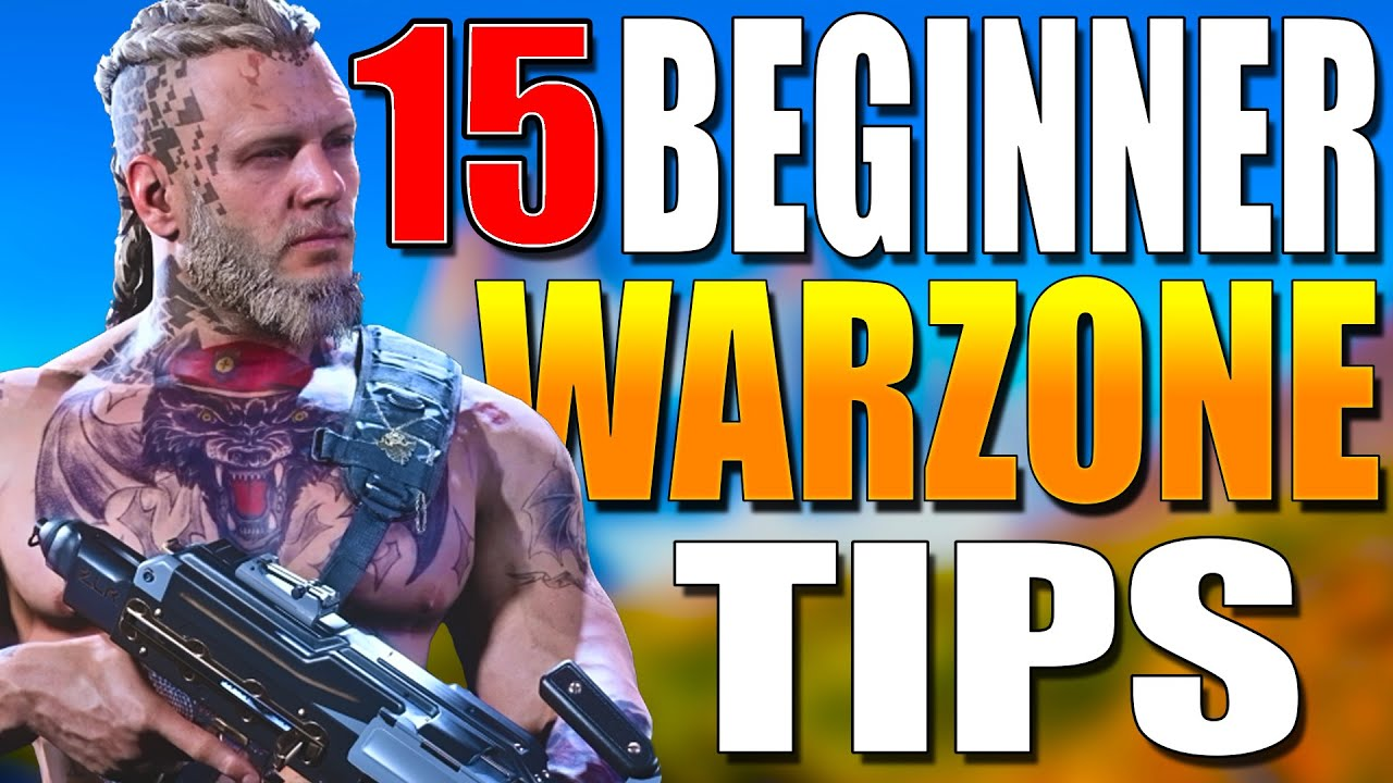 15 Beginner Warzone Tips to get Better at WARZONE! Warzone Training! (Warzone Beginner Tips)