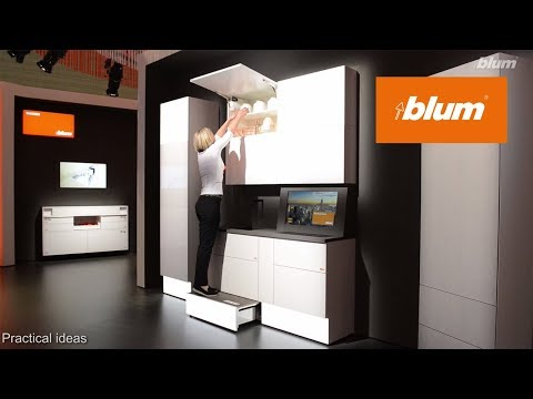Blum at interzum 2017 - Practical ideas