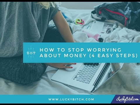 How To Stop Worrying About Money (4 Easy Steps)