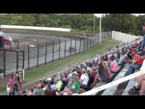 Caleb's Heat Race Caney Valley Speedway 6-10-17