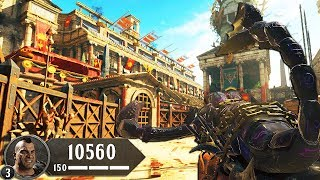 """BLACK OPS 4 ZOMBIES - """"IX"""" ATTEMPTING MAIN EASTER EGG & BOSS FIGHT! (Call of Duty BO4 Zombies)"""