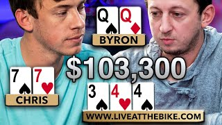 Overpair in DEEP TROUBLE with $103,300 on the Line | Million Dollar Cash Game 5.0