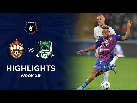 CSKA Moscow Krasnodar FK Goals And Highlights