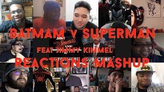 Batman V Superman - Feat.Jimmy Kimmel - Reactions Mashup