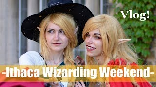 MAGIC IN THE AIR! | Ithaca Wizarding Weekend 2017 VLOG