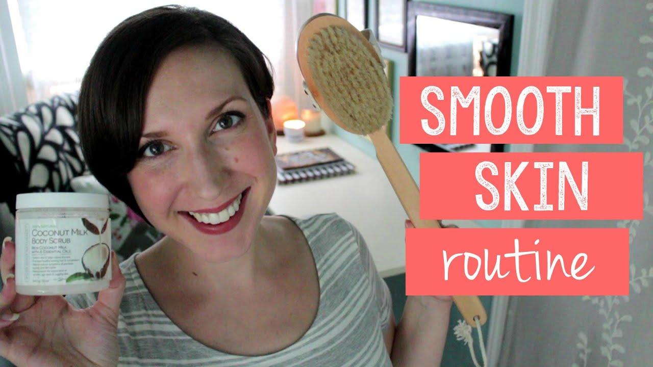 smooth skin routine