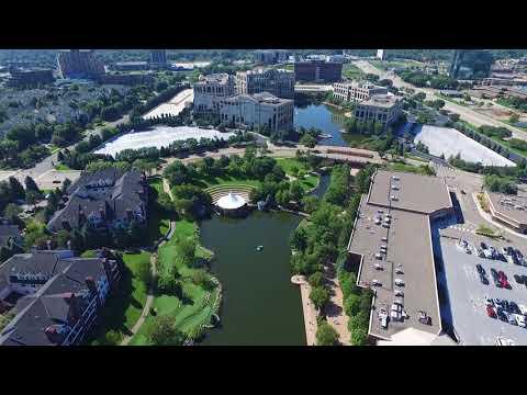 Centennial Lakes Park (Drone Footage) Edina, MN
