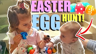 CRAZY EASTER EGG HUNT CHALLENGE WITH THE KIDS!!