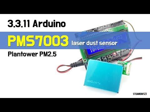 3 3 11  [SENSOR] ♡ Arduino Plantower PM2 5 PMS7003 Dust