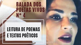 BALADA DOS POETAS VIVOS - Nº 4