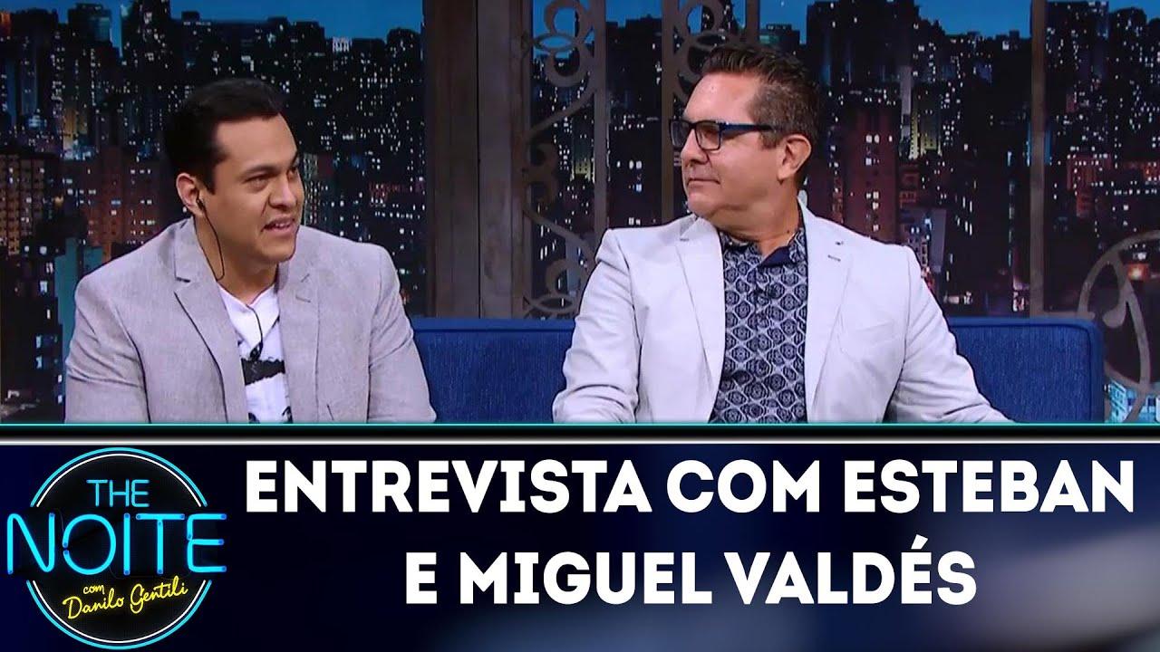 Entrevista com Esteban e Miguel Valdés | The Noite (09/05/18)