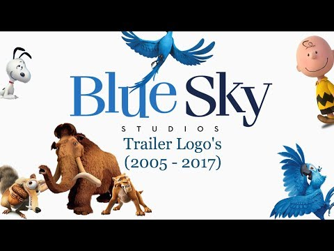 Blue Sky's Trailer Logo's (2005 - 2017)