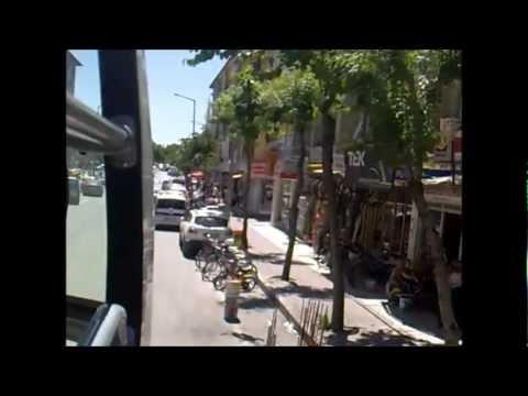 Konya Şehir Turu - Konya City Tour  /// Part 1